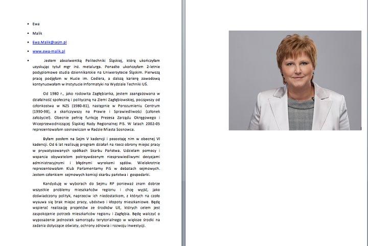 52253295379f4 Kandyduje w wyborach do Sejmu RP ponieważ znam dobrze problemy mieszkańców  regionu i chcę wyjść, jako doświadczony polityk, naprzeciw ich  niedostatkom, ...